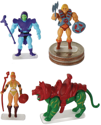 WORLDS SMALLEST MOTU MICRO ACTION FIGS