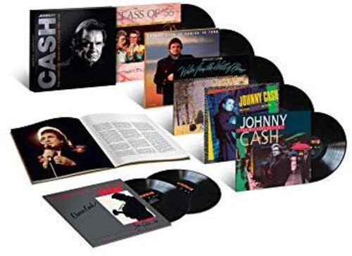 Johnny Cash - The Complete Mercury Albums (1986-1991) [7-LP Box Set]