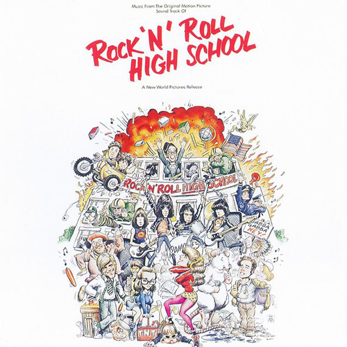 Various Artists - Rock N Roll High School [Rocktober 2019 Tri-Color LP Soundtrack]