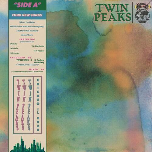 Twin Peaks - Side A   (pink vinyl)