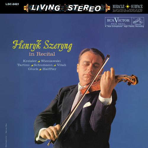 Henryk Szeryng In Recital