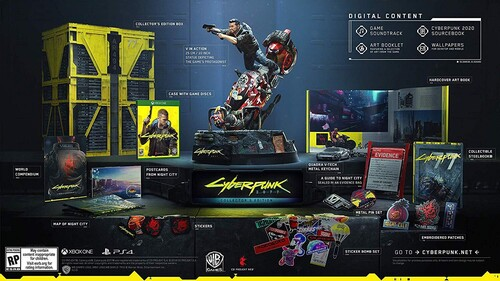 CyberPunk 2077 for Xbox One Collector's Edition