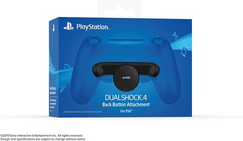 - DUALSHOCK 4 Back Button Attachment