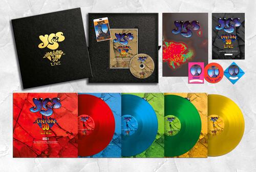 Yes - Union 30 Live (Ltd Ed 180gm Colored 4 LP + DVD) [Import]