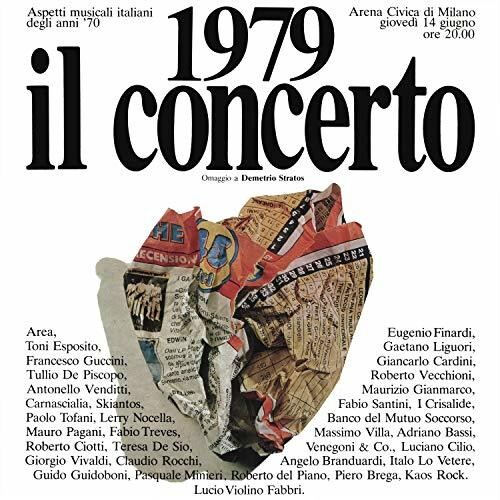 1979 Il Concerto: Omaggio A Demetrio Stratos /  Various [Import]