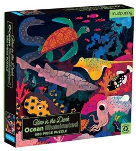- Ocean Illuminated 500 Piece Glow in the Dark, Family Puzzle