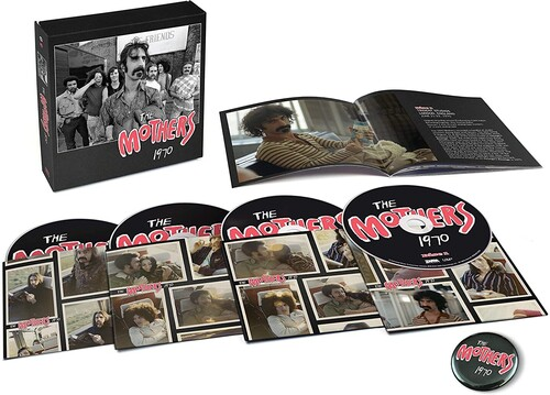 Frank Zappa & The Mothers - The Mothers 1970 [4CD Box Set]