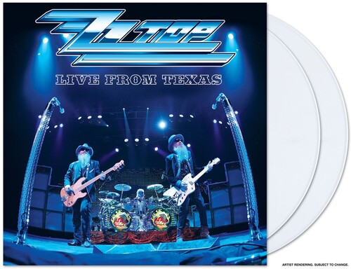ZZ Top - Live From Texas [White 2LP]