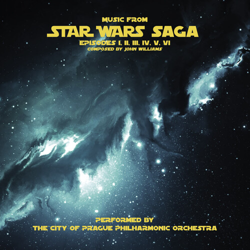City Of Prague Philharmonic Orchestra Gry Ltd - Music From Star Wars Saga (Grey Vinyl) (Gry) [Limited Edition]