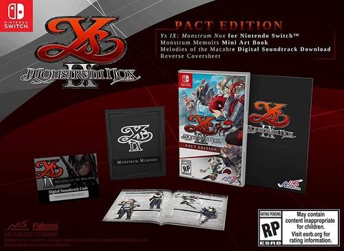 Ys IX: Monstrum Nox Pact Edition for Nintendo Switch