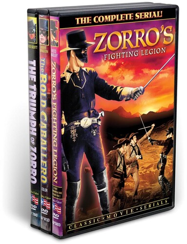 Zorro: The Sign of the Z Collection