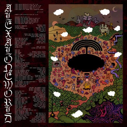 Alexalone - Alexaloneworld (Burgundy + Black Swirl Vinyl)