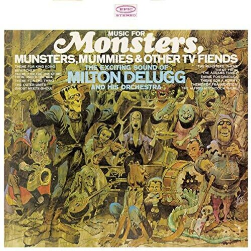 Music For Monsters, Munsters, Mummies & Other TV Fiends