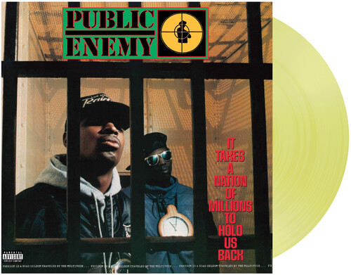 Public Enemy - It Takes A Nation Of Millions To Hold Us Back (Limited TranslucentYellow Vinyl)