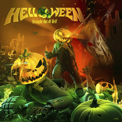 Helloween - Straight Out Of Hell (Remastered 2020) [Clear Vinyl]