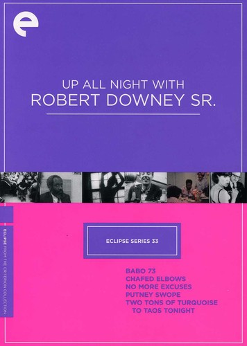 Up All Night With Robert Downey, Sr. (Criterion Collection - Eclipse Series 33)