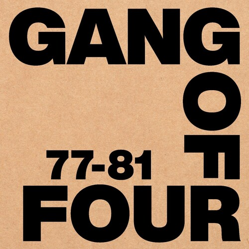 Gang Of Four - 77-81 [Deluxe Box Set]
