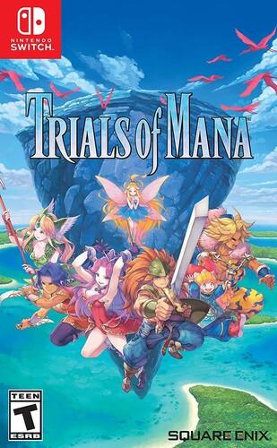 Swi Trials of Mana - Trials of Mana for Nintendo Switch