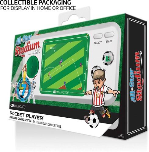 - My Arcade DGUNL-3275 ALL-STAR STADIUM POCKET PLAYER