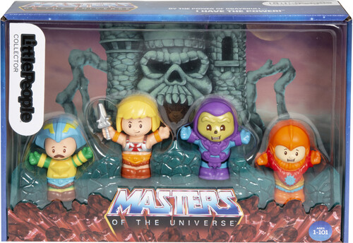 LITTLE PEOPLE COLLECTOR MASTERS OF THE 4PK