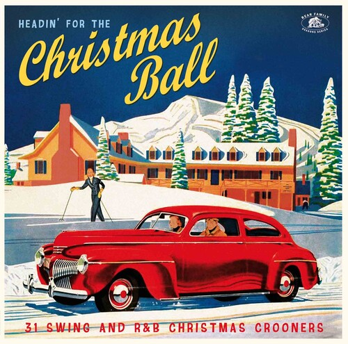 Headin' For The Christmas Ball: 31 Swing And R&B Christmas Crooners(Various Artists)