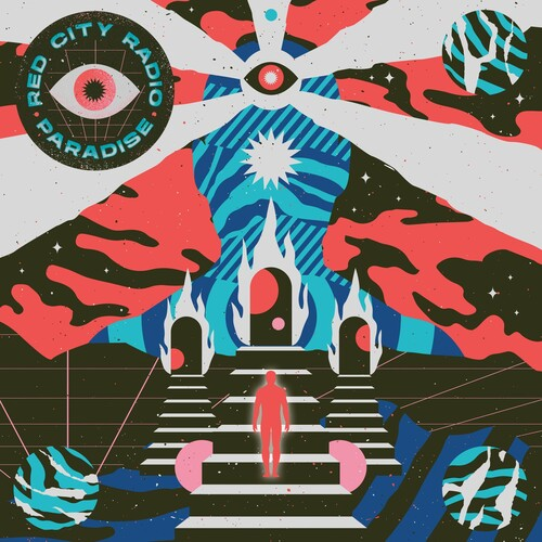 Red City Radio - Paradise [Indie Exclusive Limited Edition Clear w/ Heavy Grey, Neon Pink and Cyan Blue Splatter LP]