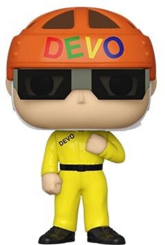DEVO - SATISFACTION (YELLOW SUIT)