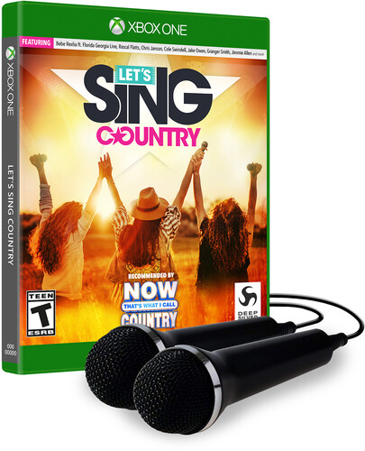Let's Sing Country - 2 Mic Bundle for Xbox One