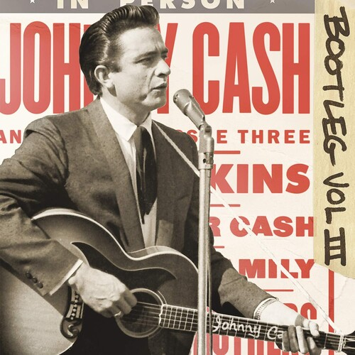 Johnny Cash - Bootleg 3: Live Around The World [Limited Edition Transparent 3LP]