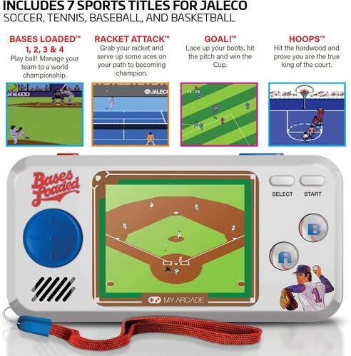 My Arcade Dgunl3278 Bases Loaded Pocket Player Gam - My Arcade DGUNL-3278 BASES LOADED POCKET PLAYER
