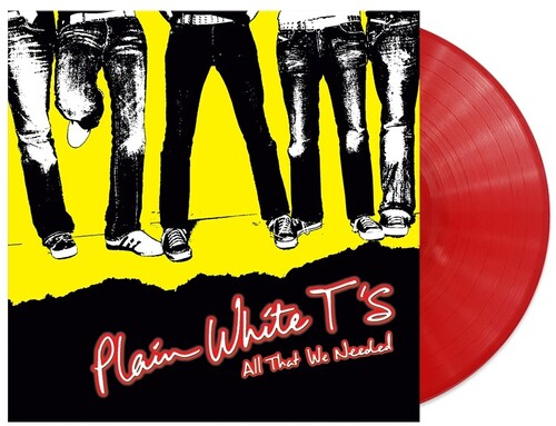 Plain White T's - All That We Needed [Opaque Red LP]