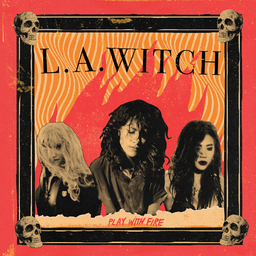 L.A. Witch - Play With Fire [Translucent Yellow LP]