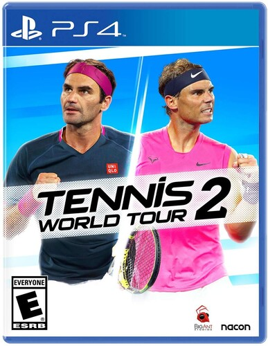 - Tennis World Tour 2 for PlayStation 4