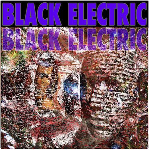 Black Electric - Black Electric (Purple / Blue with Splatter)
