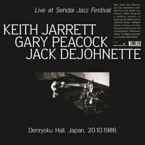 Live at Sendai Jazz Festival, Denryoku Hall, Japan