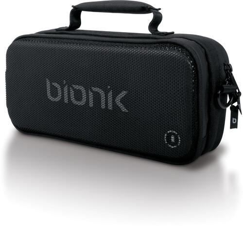 Bionik Bnk-9035 Nsw Power Commuter Travel Case Blk - BIONIK BNK-9035 POWER COMMUTER Nintendo Switch Portable Power with Travel Case Black