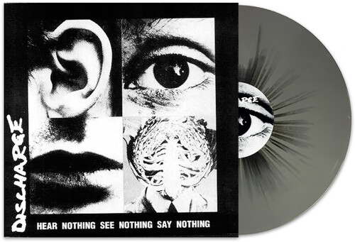 Hear Nothing, See Nothing, Say Nothing (Grey /  Black Splatter Vinyl) [Import]