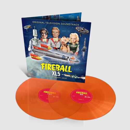 Fireball XL5: Original TV Series Soundtrack (2LP Orange Vinyl) [Import]
