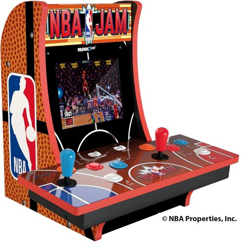 NBA JAM 2 PLAYER CC W/ MARQUEE/ PORT/ HEAD